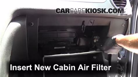 2011 Tahoe Cabin Air Filter by Cabin Air Filter Location 2011 Tahoe Cabin Get Free