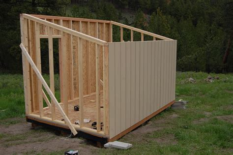 Easy To Build Storage Shed by Building A Raised Floor Shed Easy Way To Build A Garden