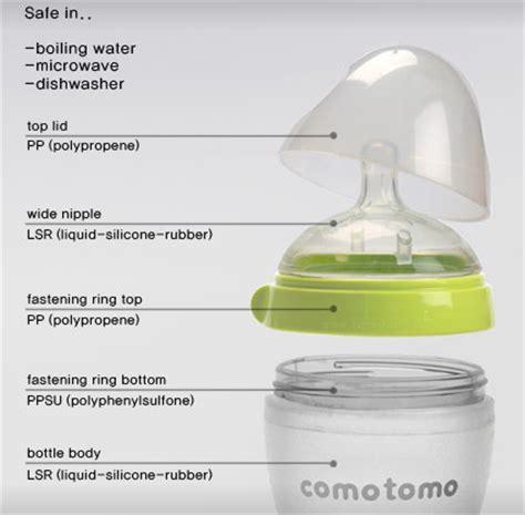 Botol Comotomo comotomo botol nurser silicone mirip payudara ibu