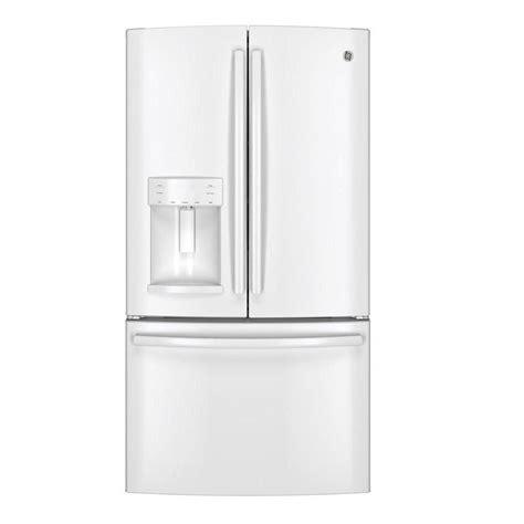 Door Refrigerator White by Ge 25 8 Cu Ft Door Refrigerator In White