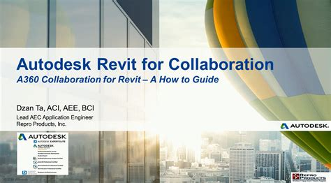 Revit Collaboration Tutorial | tutorial tuesday a360 collab for revit repro products