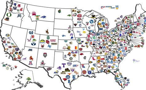 college map image gallery ncaa map