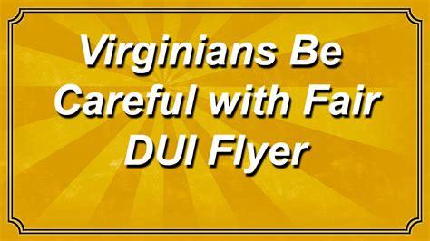 virginians  careful  fair dui flyer youtube