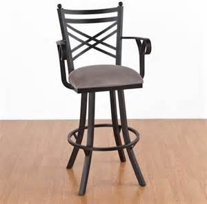 new rochelle 30 in bar stool with arms swivel
