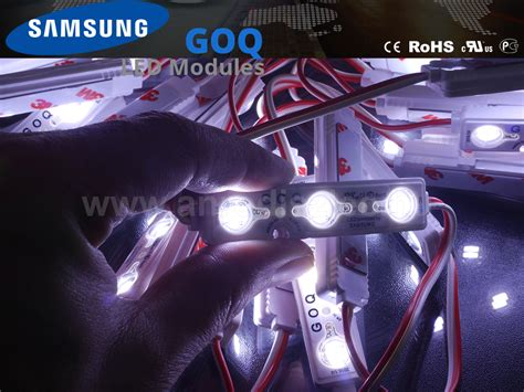 Lu Led Samsung Goq lumines goq samsung led modul 5630x3 150 176 ip68 11000k 5 201 v 193 r 299 ft led modul
