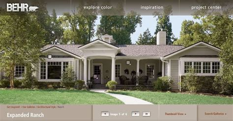ranch house exterior paint colors second we a more girly choice which includes a grey