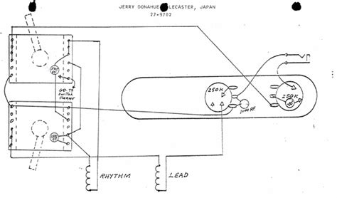 telecaster plus and jerry donahue wiring diagrams