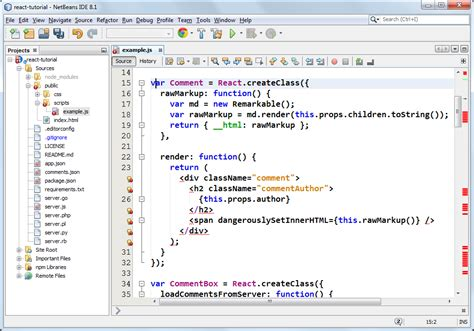 tutorial netbeans 8 0 2 jsx in netbeans ide 8 2 oracle geertjan s blog