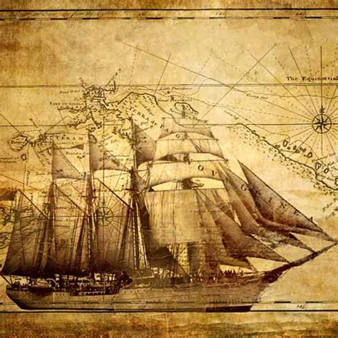 Christmas Throw Rugs by Sail Ship Canvas Print