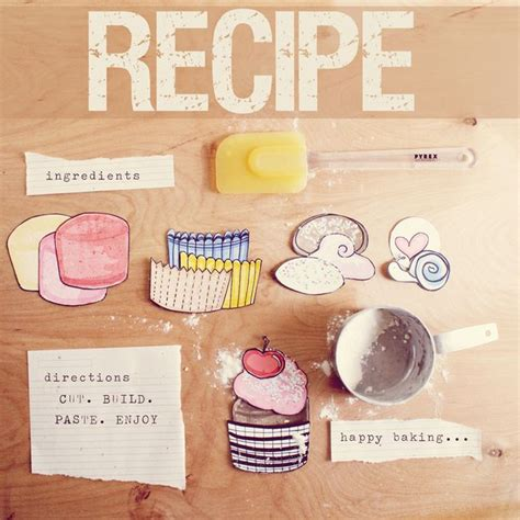 printable recipes for cupcakes printable paper cupcakes printables 4 mom
