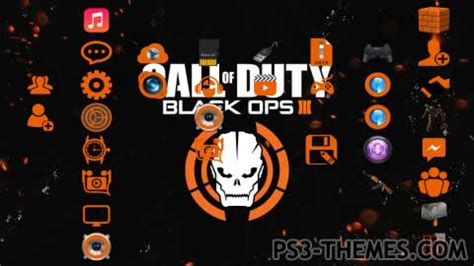 themes ps3 black ops 3 ps3 themes 187 black ops iii theme