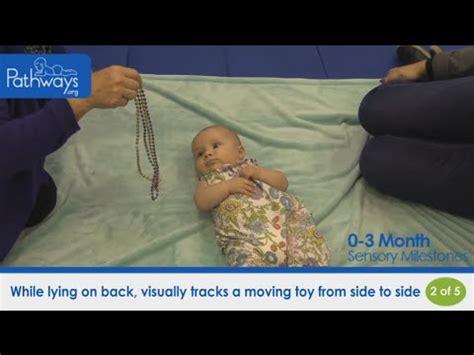 month baby sensory milestones    youtube