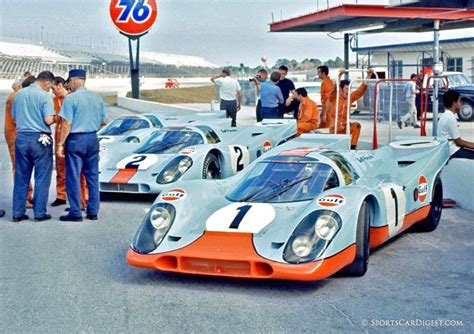 gulf porsche 917 the chicane happy porsche 9 17