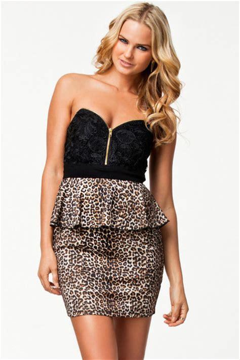 Mini Dress 263 dress leopard print apparel accessories clothes mini dress wheretoget