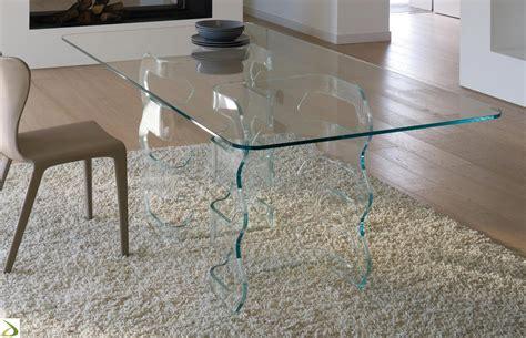 tavolo di cristallo tavolo rettangolare in cristallo con sedie duylinh for