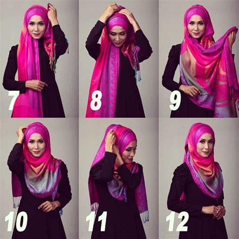 tutorial hijab on pinterest tutorial hijab pashmina terbaru hijab pinterest