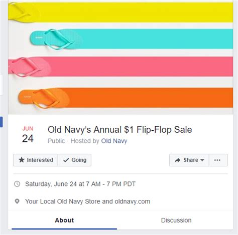 old navy coupons ebay old navy s annual 1 flip flop sale omg