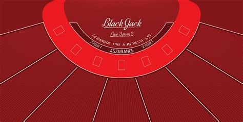 Tapis De Blackjack by Tapis Black