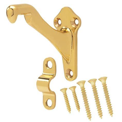 banister rail brackets everbilt solid brass handrail bracket 15655 the home depot