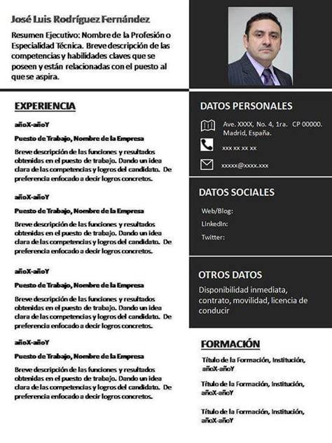 Plantilla De Curriculum Vitae 2014 30 5 Tipos De Curriculum Vitae Para Diferenciarte De Tu Competencia