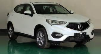 Acura Mini Suv New Acura Cdx Compact Suv Exposed In China Rivals