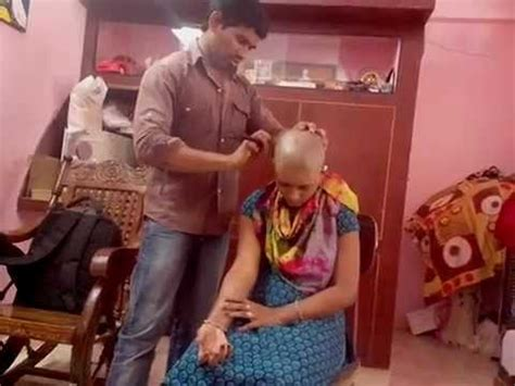 new indian women headshave indian home made young girl headshave youtube