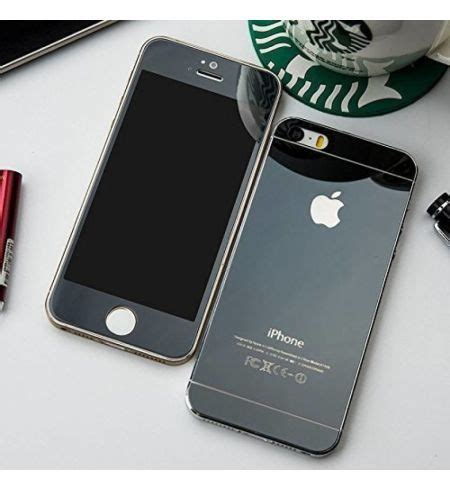 galaxy black colour front  tempered glass  iphone
