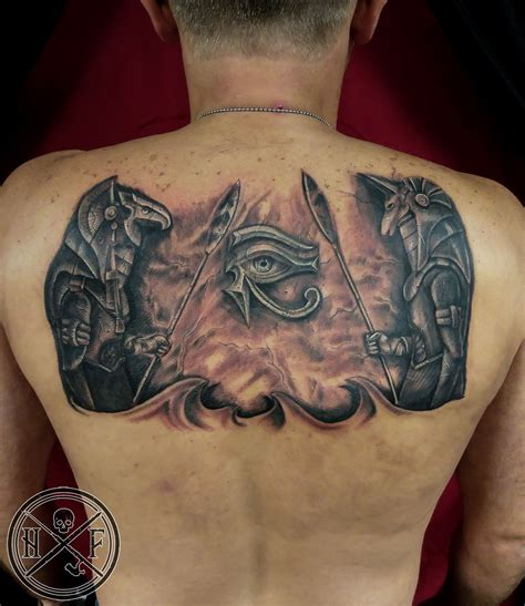 egyptian gods tattoo hughfowler gods
