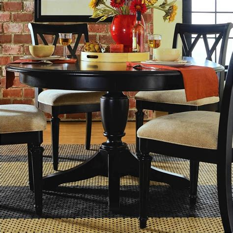 Camden Dining Table Camden Oval Casual Dining Table In Black Finish 919 701r