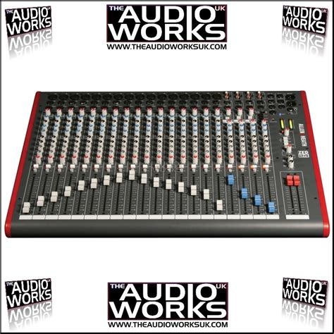 Allen Heath Mixer Live Zed24 allen heath zed24 live mixer audio works