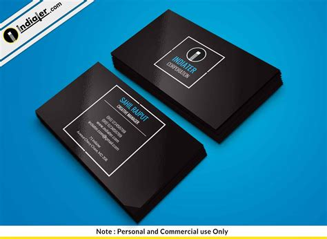 Free Professional Business Card Templates Psd by Indiater Free Professional Business Card Psd