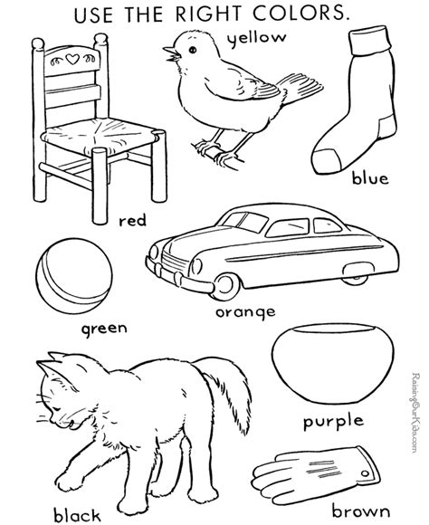 color by number coloring page for kids 004