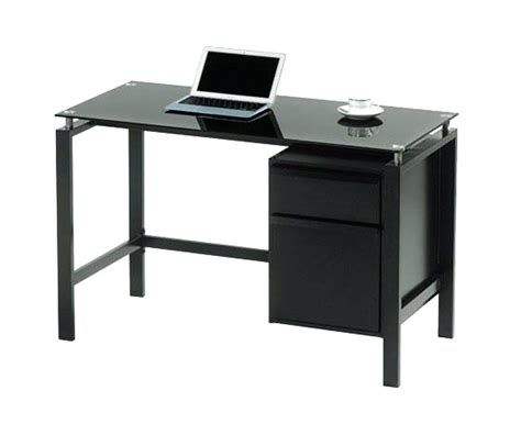 Office Desk Glass Top Black Glass Top Desk Amstudio52 With Regard To Glass Top