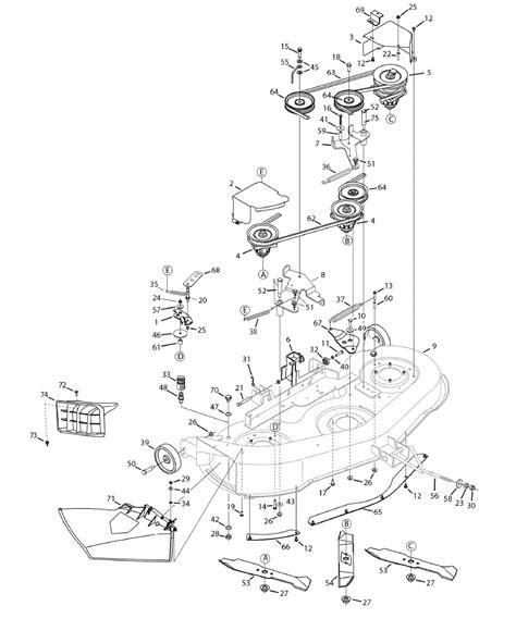 yard machine mower parts diagram i a 46 quot cut yard machine lawn mower i need to