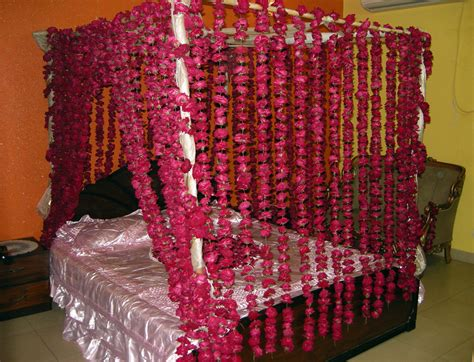 indian wedding bedroom decoration dulha tera sehra bara shandar 2 bed decorated for