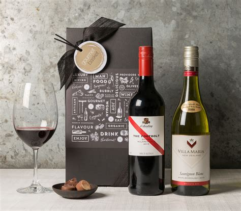 wine duo in gift box from 55 00 gift basket her