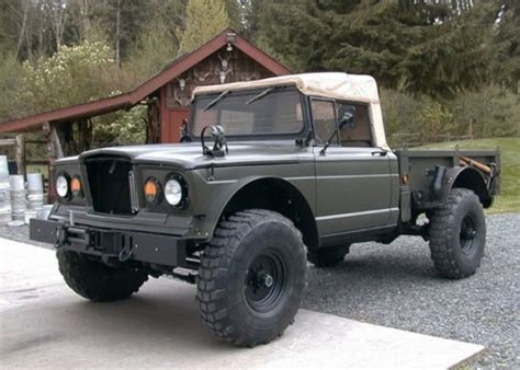 military jeep front 1967 kaiser military jeep m715 4x4 truck pickup army usmc