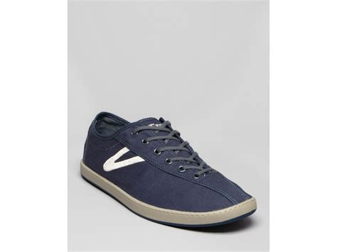 ombre sneakers tretorn karlstad canvas sneakers in blue for