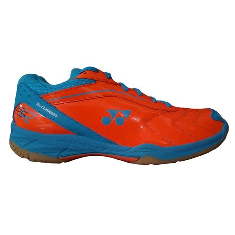Sepatu Yonex Srci 65r yonex tru cushion srci 65r badminton shoes orange and blue