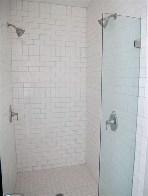 white shower 15 white ceramic bathroom wall tiles ideas and pictures