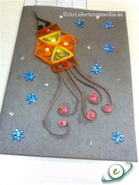 Handmade Diwali Lanterns - the ultimate list of 15 diy diwali card ideas for to