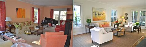 home staging before and after before after design ideas from a home stager time to