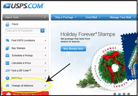Usps Address Change Of Address Form