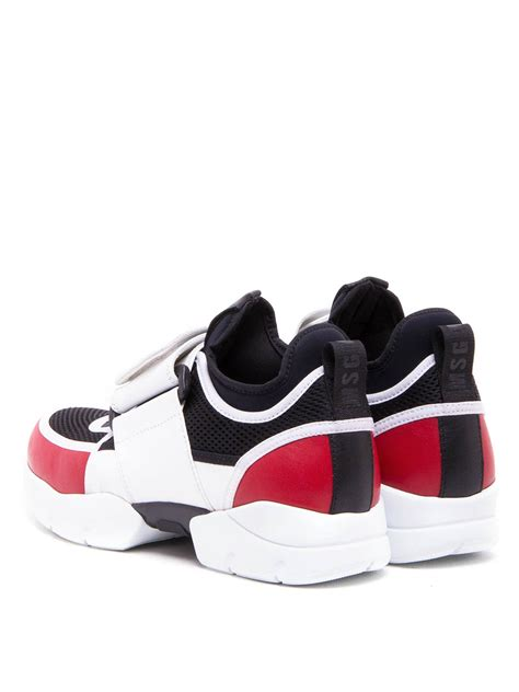 sneakers with velcro straps velcro leather sneakers by m s g m trainers ikrix