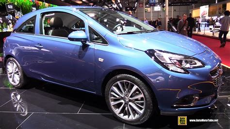 vauxhall corsa 2017 2017 opel corsa innovation 1 0 115hp exterior and