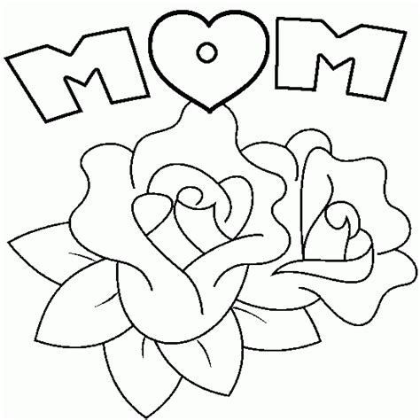 free coloring pages of hearts flowers