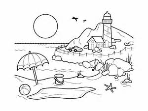 Landscape Colouring Pictures Landscapes Coloring Pages For Adults Coloring