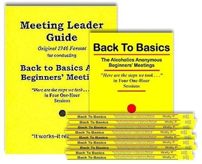 back to the conference special books meeting leader guide original format and 10 back to