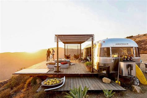 airbnb airstream this off grid airstream home is a malibu dream curbed