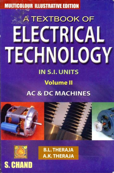 reference books electrical technology electricity and magnetism physics